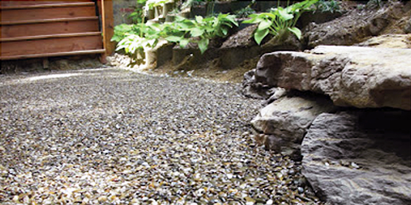 Green Roof Solutions Single Component, Moisture Curing Liquid To Bond  Together Pea Gravel