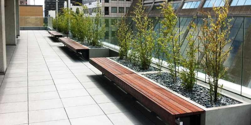 Custom Planters Urban Agriculture Green Roof Solutions